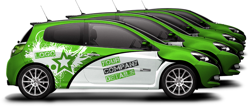 Vehicle wrap example